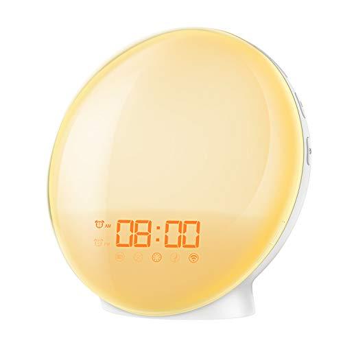 AMIR New Wake-Up light, Sunrise Alarm Clock,...