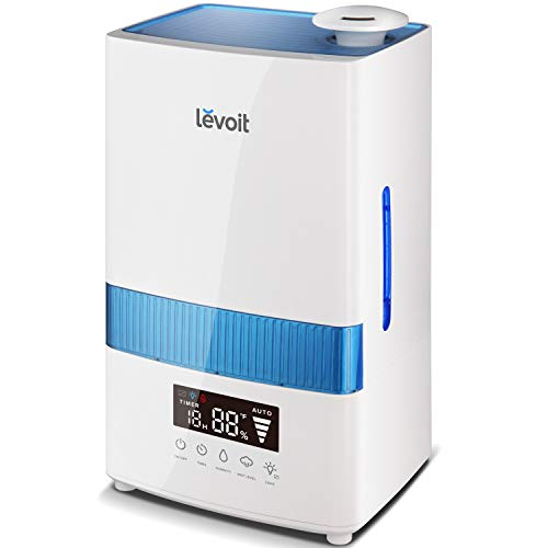 LEVOIT Cool Mist Humidifier for Bedroom, 4.5L...
