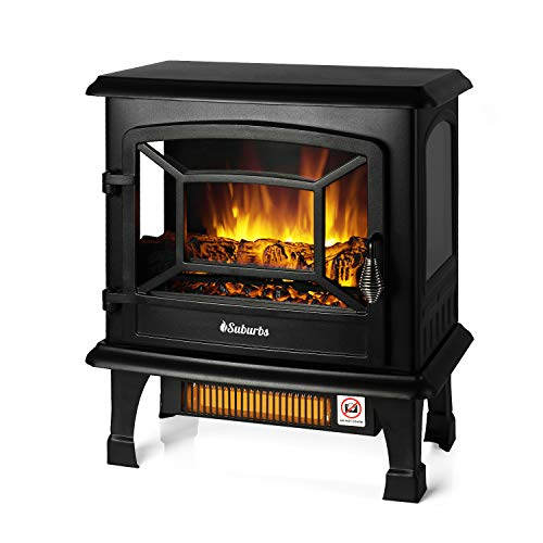 TURBRO Suburbs TS20 Electric Fireplace...