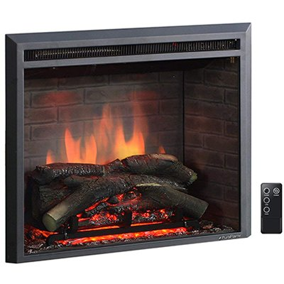 PuraFlame 26'' Western Electric Fireplace Insert