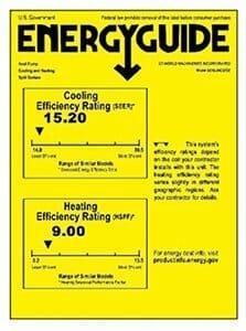Senville SENL-09CD Energy Guide