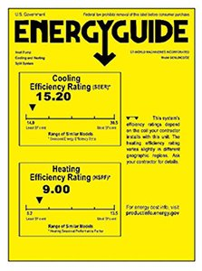 Senville SENL-09CD Energy Guide
