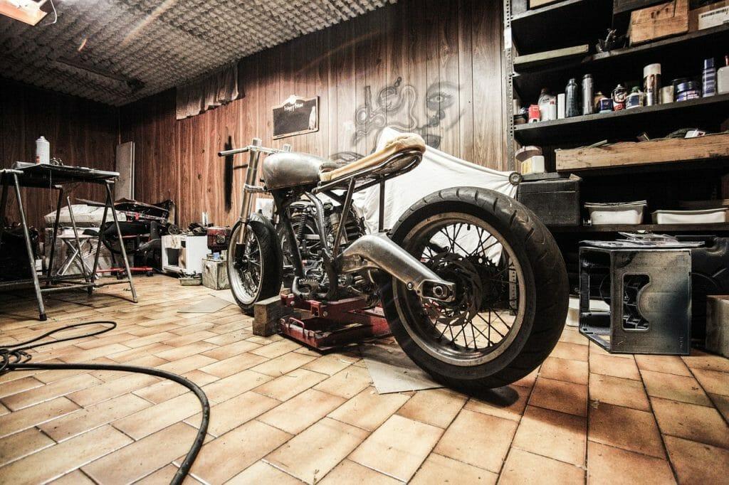 garage needing heating