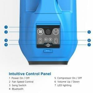 Zero Breeze Control Panel