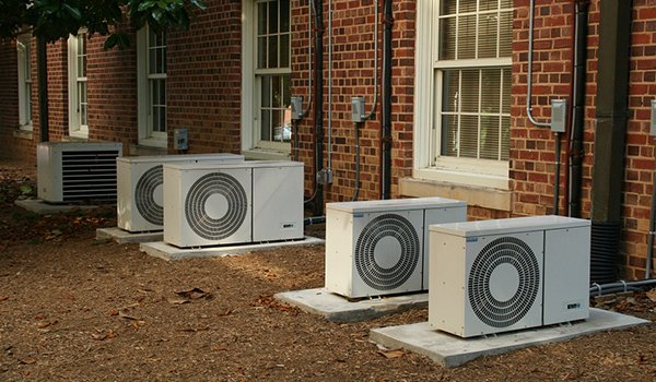 AC units in a row