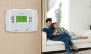 Honeywell thermostat wall