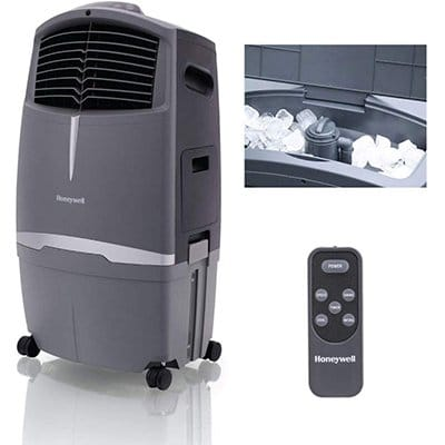 Honeywell 525-729CFM Indoor Outdoor Portable Evaporative Cooler
