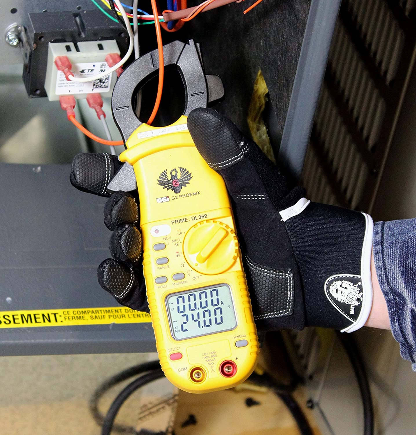 Digital Clamp-On Meter