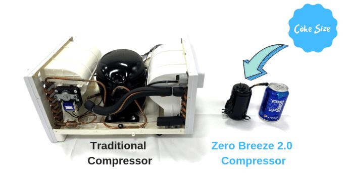 Zero Breeze 2 micro compressor