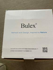 Bulex Air Purifier Warranty Info