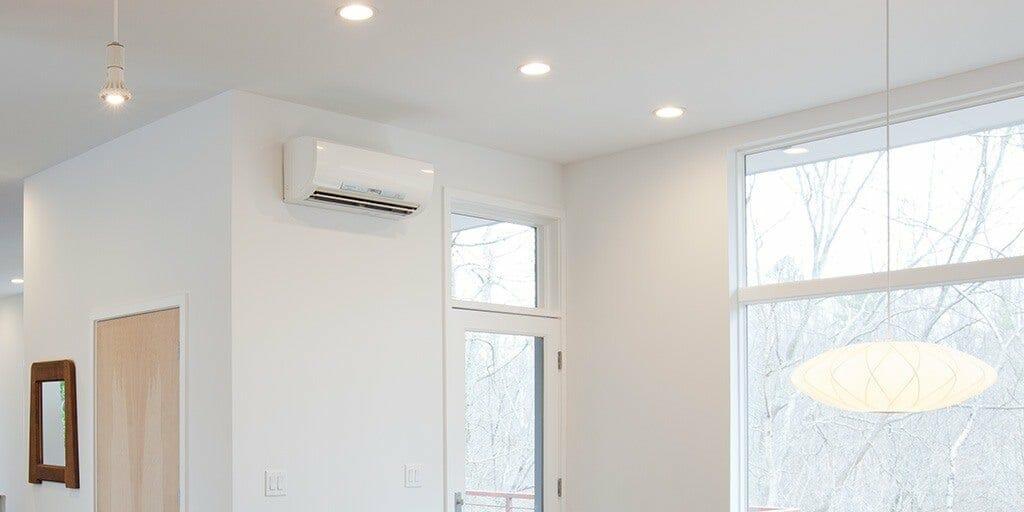 Mini Split System in Living Room