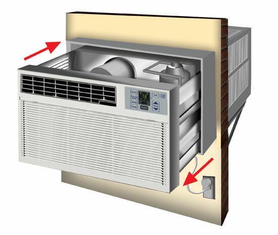 Through-The-Wall AC Unit Diagram