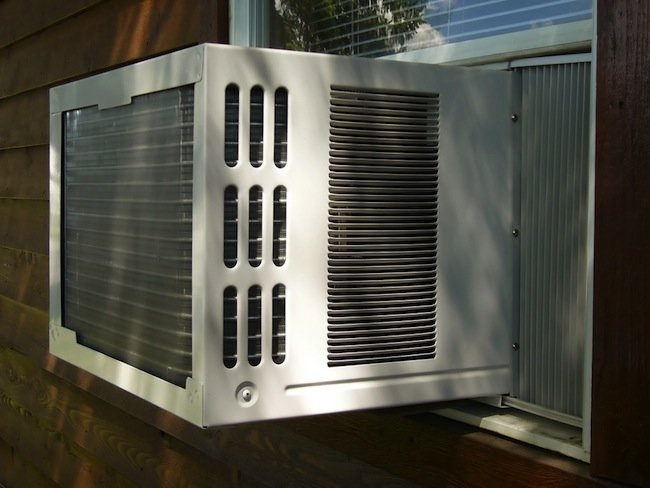 Window AC from Outside