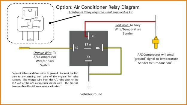Wiring Diagram (Fan Relay)