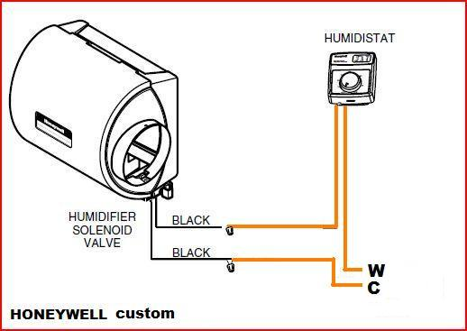Humidifier Thermostatic Wiring Diagram