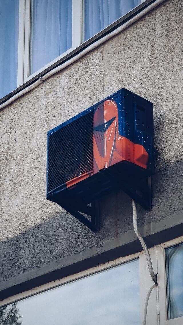 Painted Split Type Air Conditioner